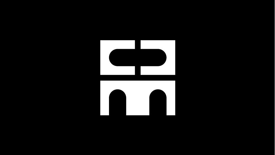 Trademark Club del Marketing e della Comunicazione bianco su nero