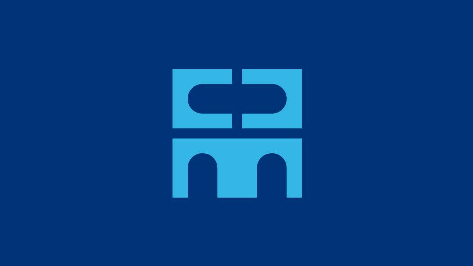 Trademark Club del Marketing e della Comunicazione azzurro su blu