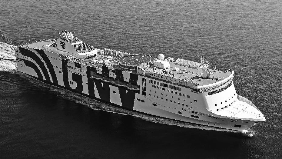 GNV traghetto e ferry-boat