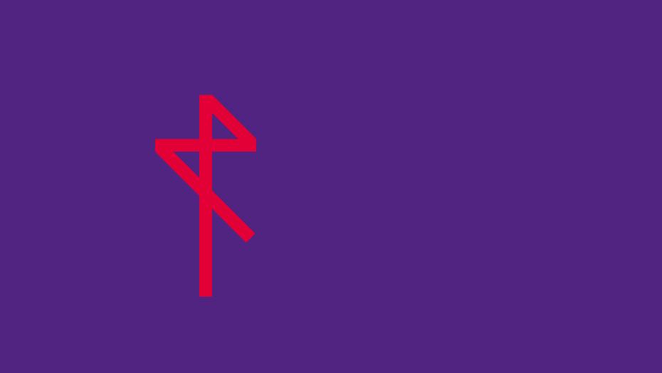 Rossetto trademark rosso rossetto su viola rossetto