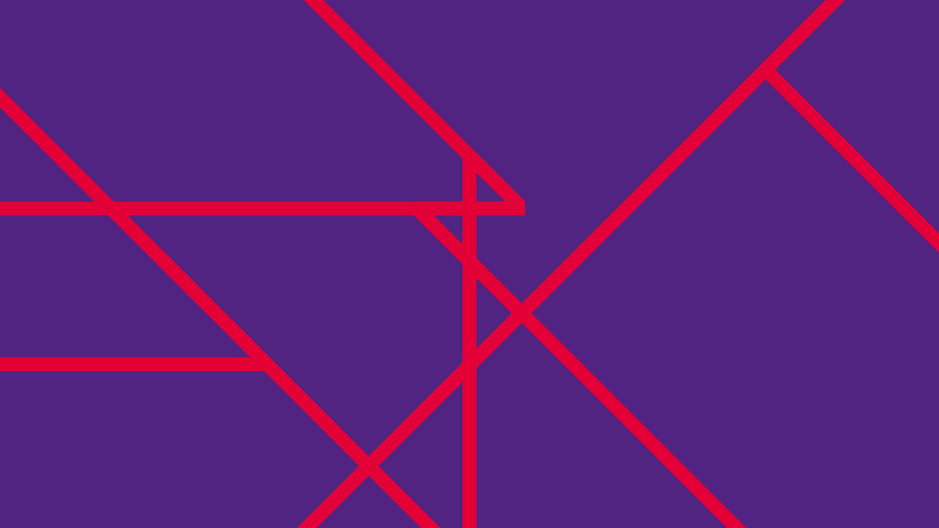 Rossetto identity system rosso rossetto su viola rossetto
