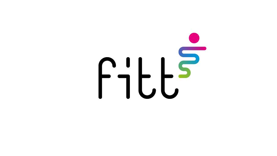 Fitt trademark a colori fondo bianco