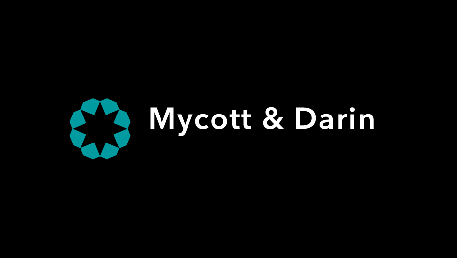 Trademark and logotype Mycott and Darin a colori